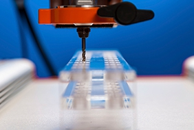 Surface treatment of precision parts
